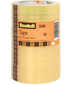 Tape Scotch 508 15mmx66m tårn klar (10)