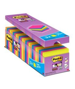 Post-it SS-Notes V-pack ass. farver (24)