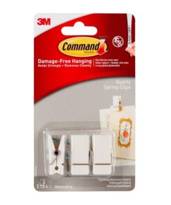 Command fjederclips i quartzfinish 17089Q