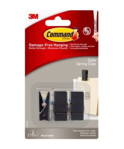 Command fjederclips i skiferfinish 17089S