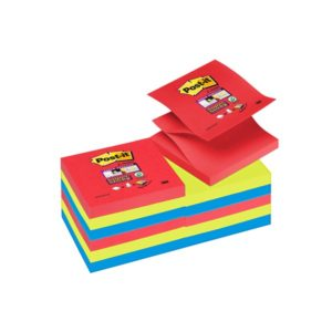 Post it Z-Notes 76x76 Super Sticky Jewel Pop (6)