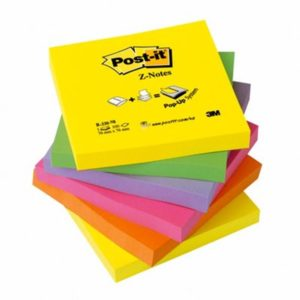 Post-it Z-Notes 76x76 neon rainbow(6)