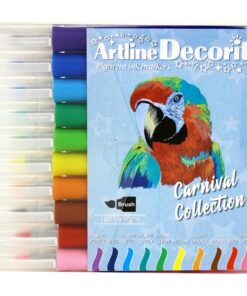 Artline Decorite brush pastel 10-sæt
