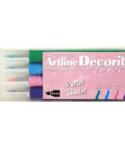 Artline Decorite brush Pastel 4-sæt