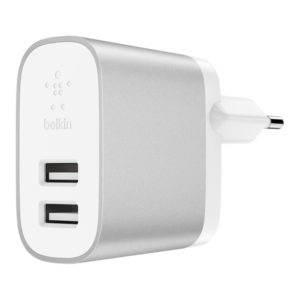 4.8A Dual USB-A Home Charger + Lightning to A Cable