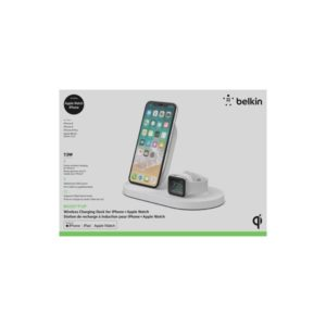 Wireless 7.5W Charge Dock for Apple Watch & iPhone