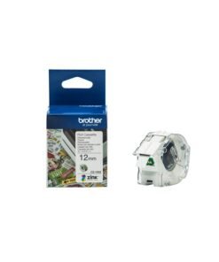 Brother CZ-1002 tape white 12mm x 5m