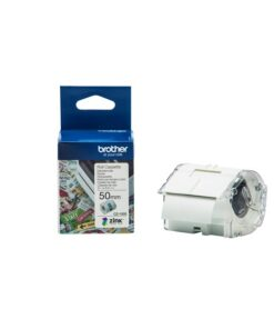 Brother CZ-1005 tape hvid 50mm x 5m