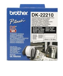 Brother labels 29mmx30