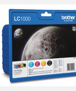 LC1000 CMYK ink cartridge value blister