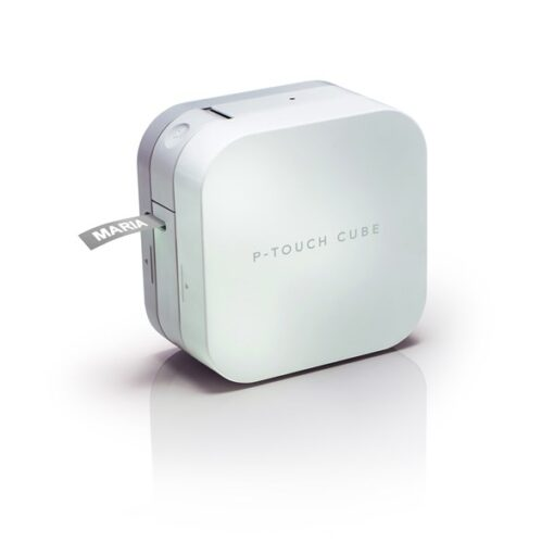 P-touch Cube Bluetooth labelling machine