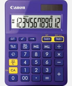 Canon LS-123K MPP pocket calcutalor purple