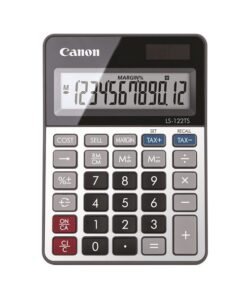 Canon LS-122TS desktop calculator