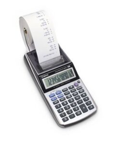 Canon P1-DTSC printing calc. w/o adapter