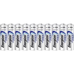 Energizer Lithium AA/L91 (10-pack)