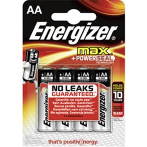 Energizer MAX AA/LR6 (4-pack)