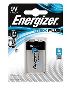 Energizer Max Plus 9v/522 (1-pack)