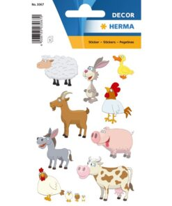 Herma stickers Decor dyr (3)