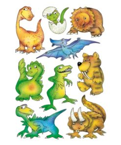 Herma stickers Decor dinosaurer (3)