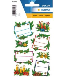 Herma stickers Decor julegaveretiket jul (2)