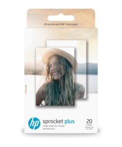 Sprocket Plus Photo Paper sticky-backed sheets 58x87mm (20)