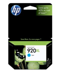 No920 XL officejet cyan ink cartridge
