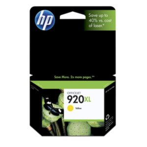 No920 XL officejet yellow ink blistered