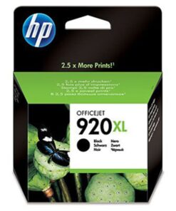 No920 XL officejet black ink cartridge