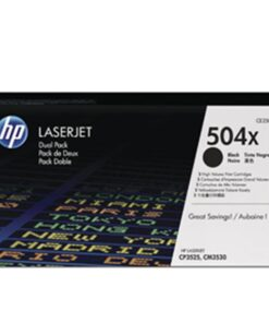 Color LaserJet 504X cartHC (2) dual-pack