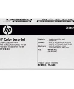 Color LaserJet CP4525 toner waste box