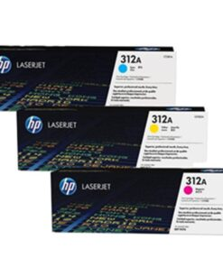 Color laserjet 312A CMY toner tri-pack