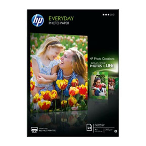 A4 Everyday Glossy Photo Paper 200g (25)