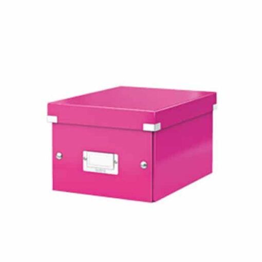 Arkivboks Click&Store lille WOW pink