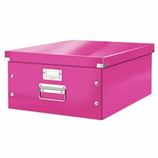 Arkivboks Click&Store stor WOW pink