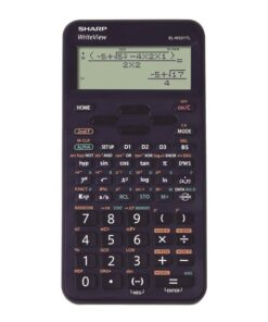 Sharp scientific calculator EL-W531TL mørke blå
