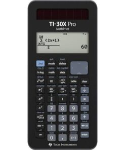 Texas TI-30X Pro Mathprint Scientific calculator