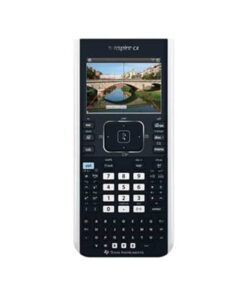 Texas TI-Nspire CX II-T graphing calculator uk manual