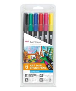 Marker Tombow ABT Dual Brush 6P-1 Basic (6)