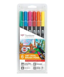 Marker Tombow ABT Dual Brush 6P-3 Tattoos (6)