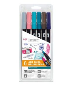 Marker Tombow ABT Dual Brush 6P-5 Vintage (6)