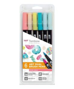 Marker Tombow ABT Dual Brush 6P-4 Candy (6)