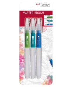 Tombow Water brush (tom) sæt blister (3)