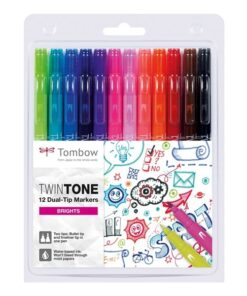 Marker Tombow TwinTone bright 0