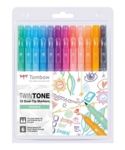 Marker Tombow TwinTone pastel 0