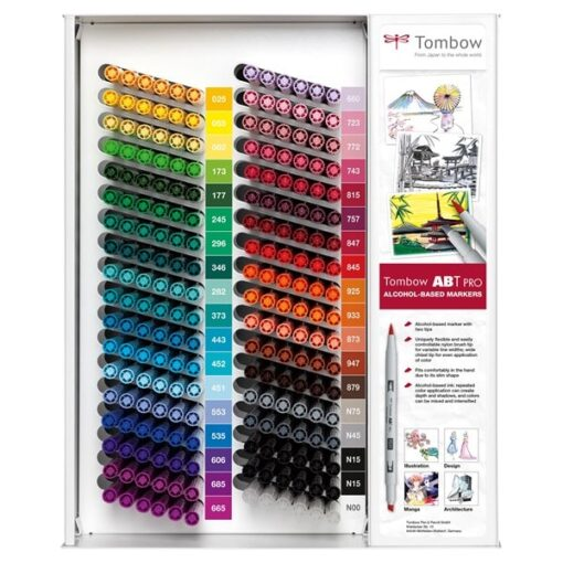 Marker alcohol ABT PRO display empty for 216 pcs