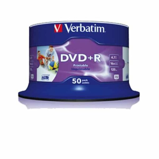 DVD+R 16XWide Inkjet printable No ID(50)