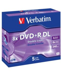 DVD+R 8x Double Layer matt silver (5)