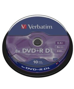 DVD+R 8x Double Layer spindle matt (10)