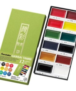 GANSAI TAMBI Aquarel 12 colour set