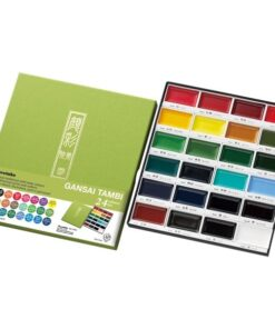 GANSAI TAMBI Aquarel 24 colour set